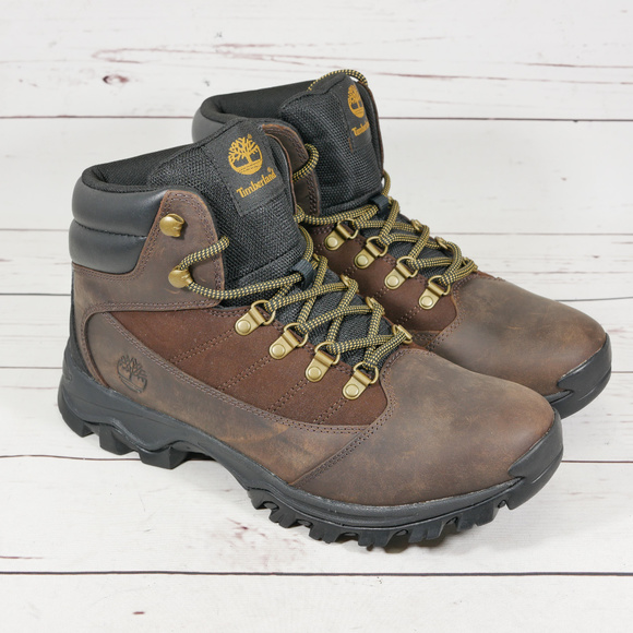 5226576e Timberland Shoes | New Rangeley Mid Boots Brown Leather | Poshmark